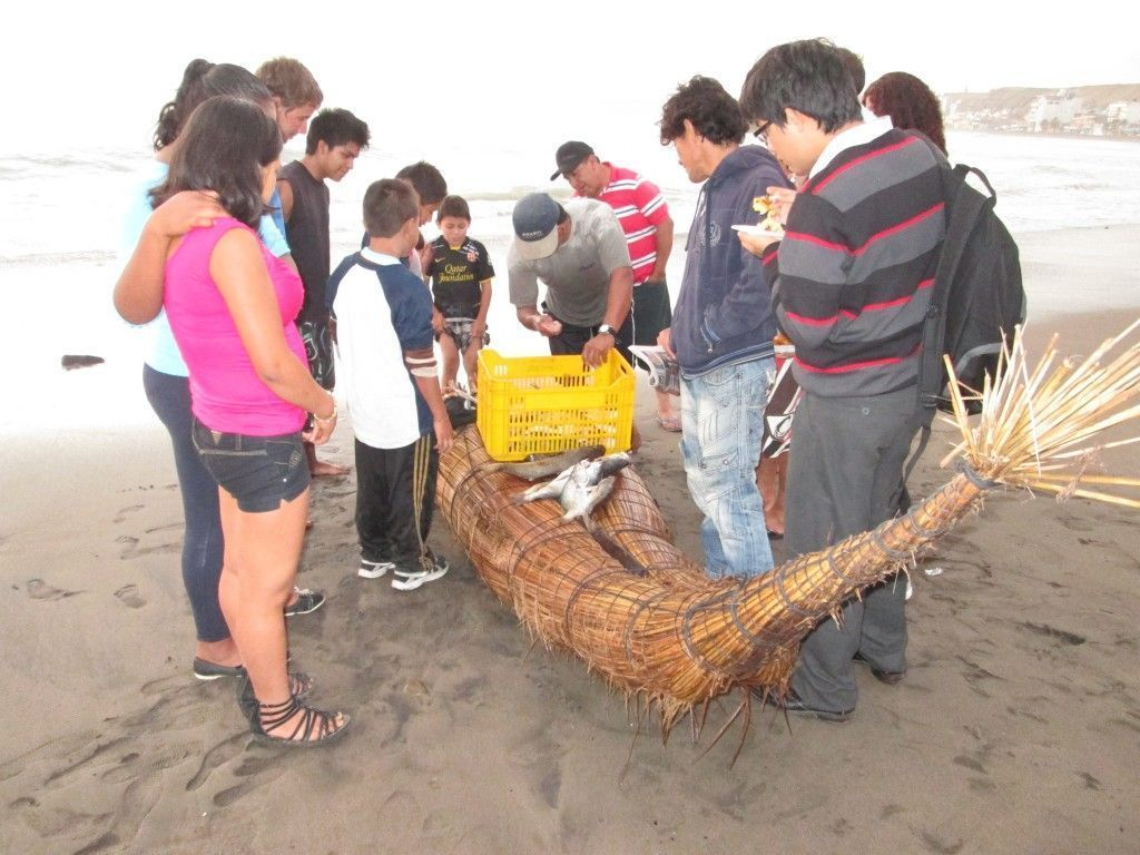 Pescadores en Pacasmayo