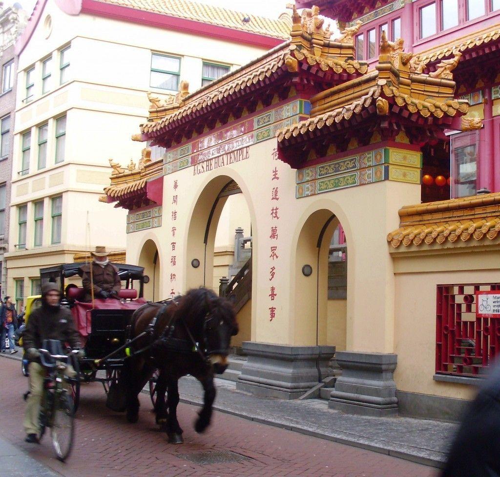 Templo de He Hua en Amsterdam.