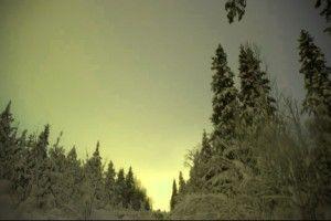 Auroras en Finlandia