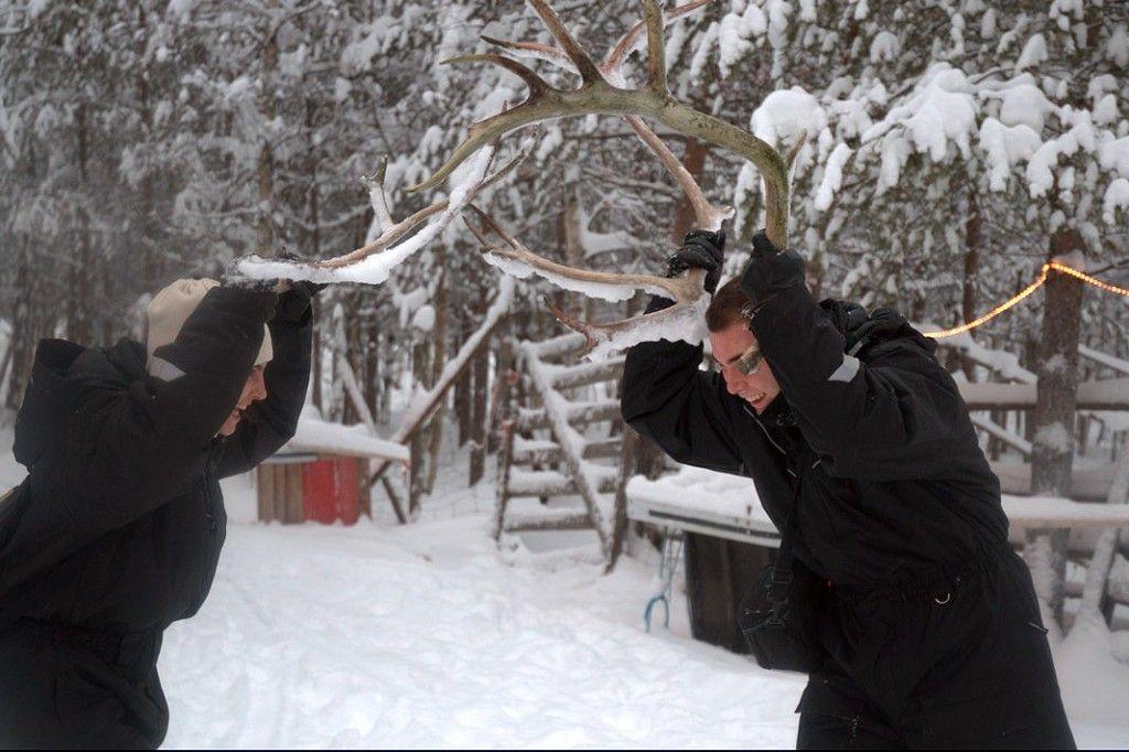 Haciendo el reno