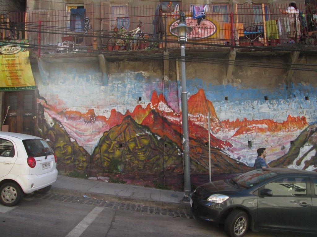 Grafitti en Valpo
