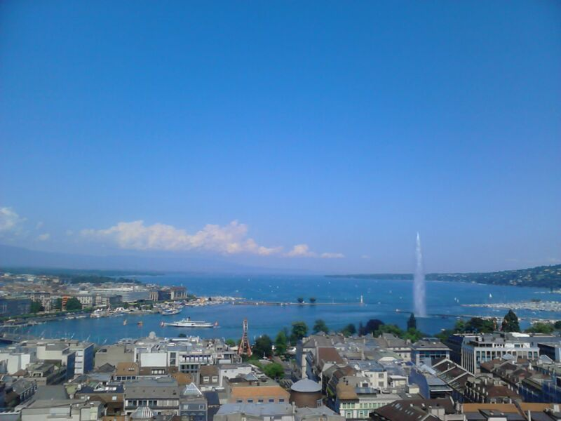Ginebra. Recorrer el lago Leman