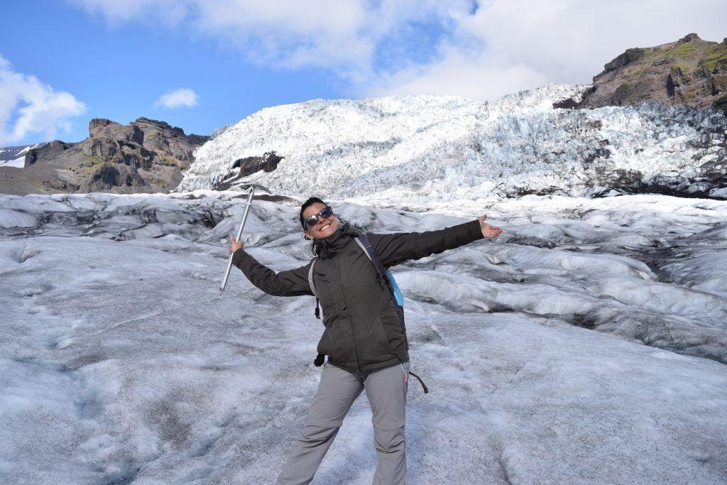 trekking glaciar