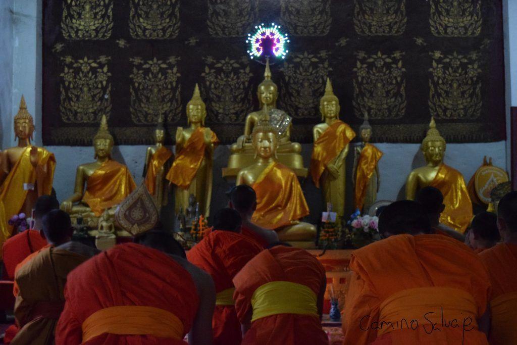 Monjes rezando