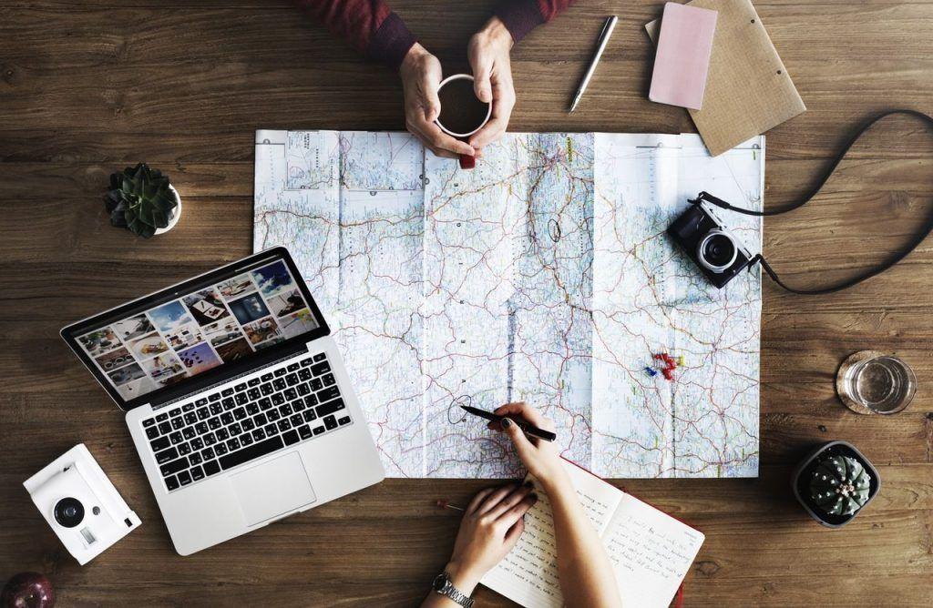 Trabajar viajando - Organizar un viaje