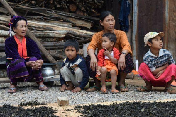 Familia de Myanmar