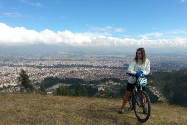Nati Bainotti - Viajar en bici