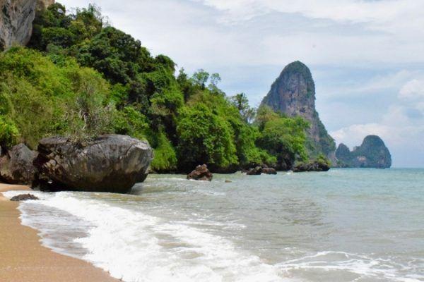 Playa de Railay - Viajar al Sudeste Asiático