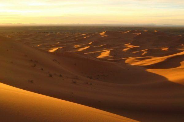 Las doradas dunas de Merzouga: el Erg Chebbi