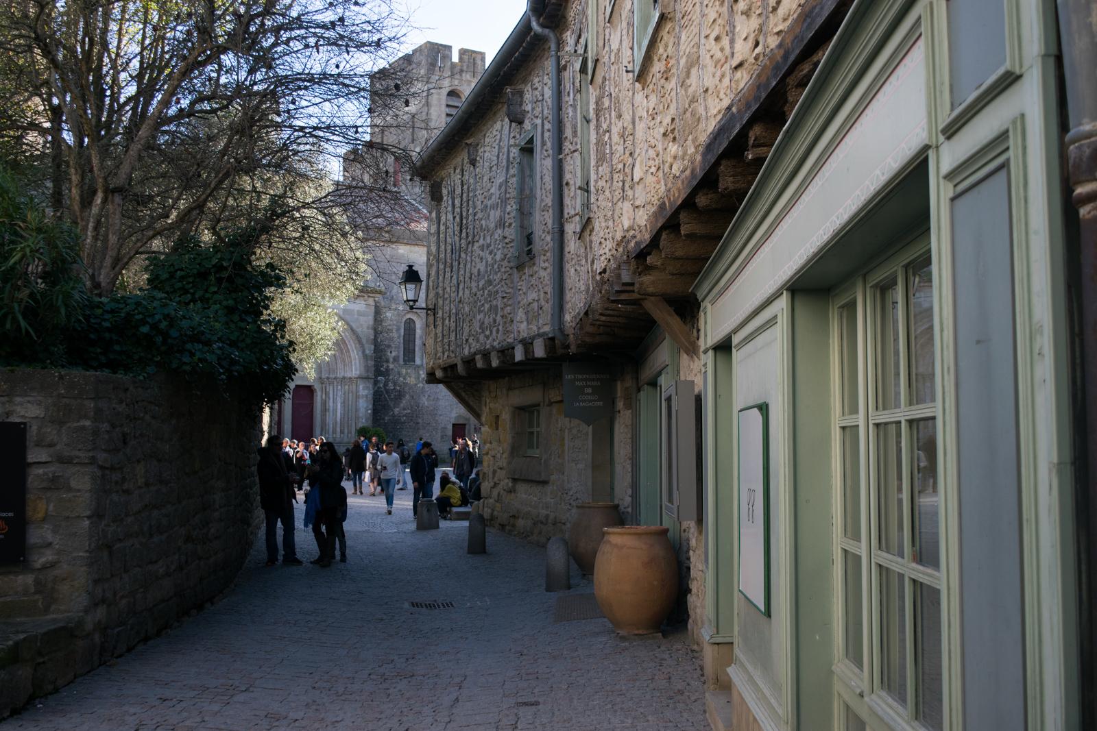 Carcassonne, la calle
