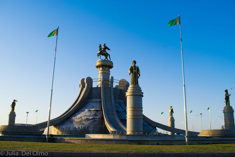 Fuentes de Ashgabat