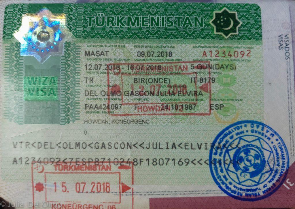 Visados para viajar Asia Central