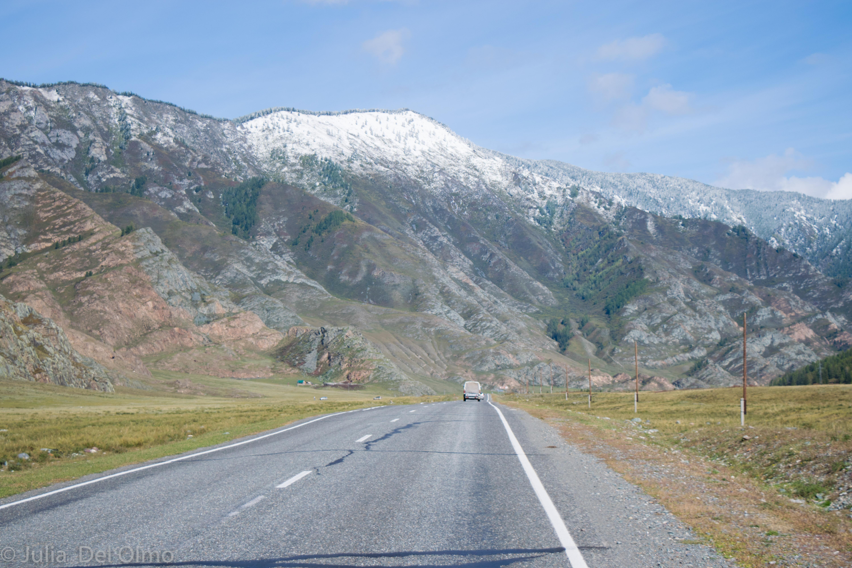 Carretera en Altai