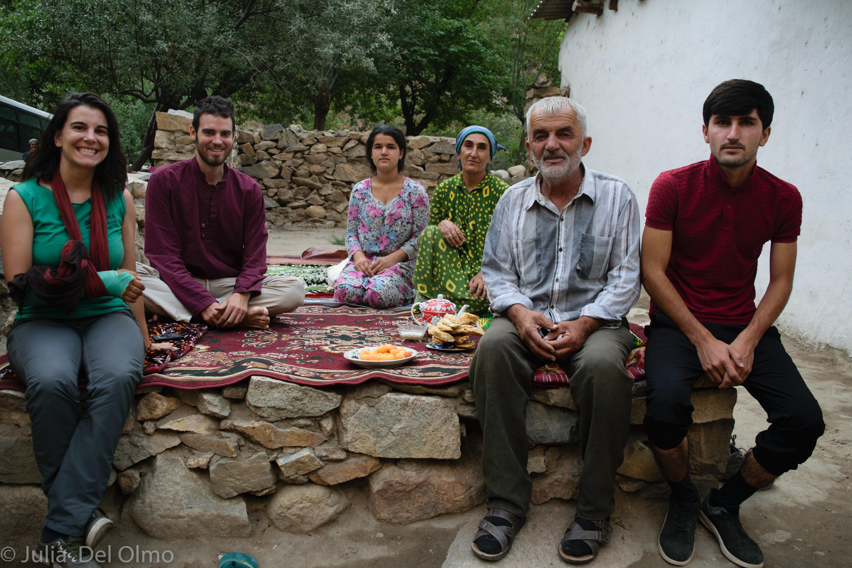 Familia en Tayikistán
