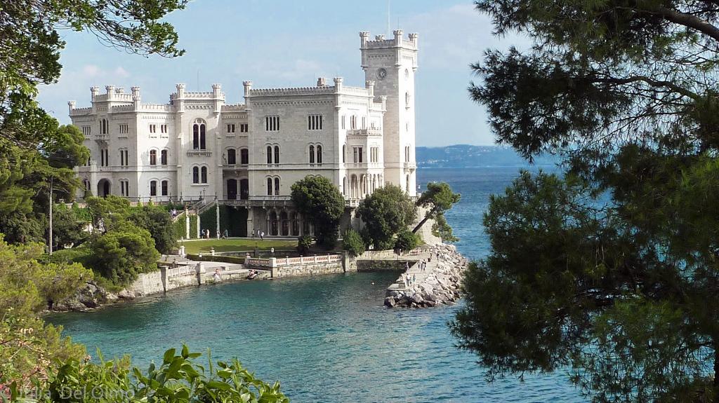 Castillo de Sisi en Trieste