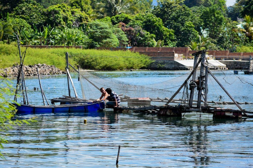 Raya, el pescador Batak