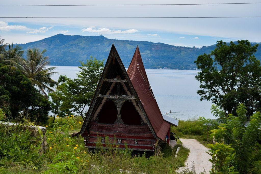 Casa Batak en Samosir