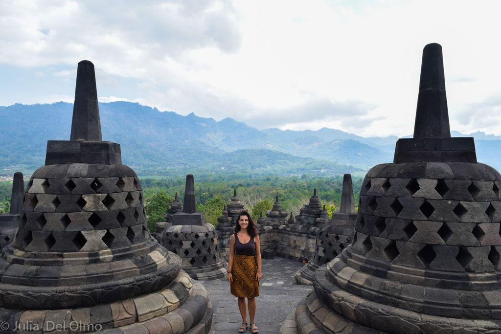 Borobudur- Viajar a Indonesia