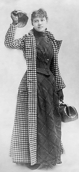 Nellie Bly y la vuelta al mundo en 72 días
