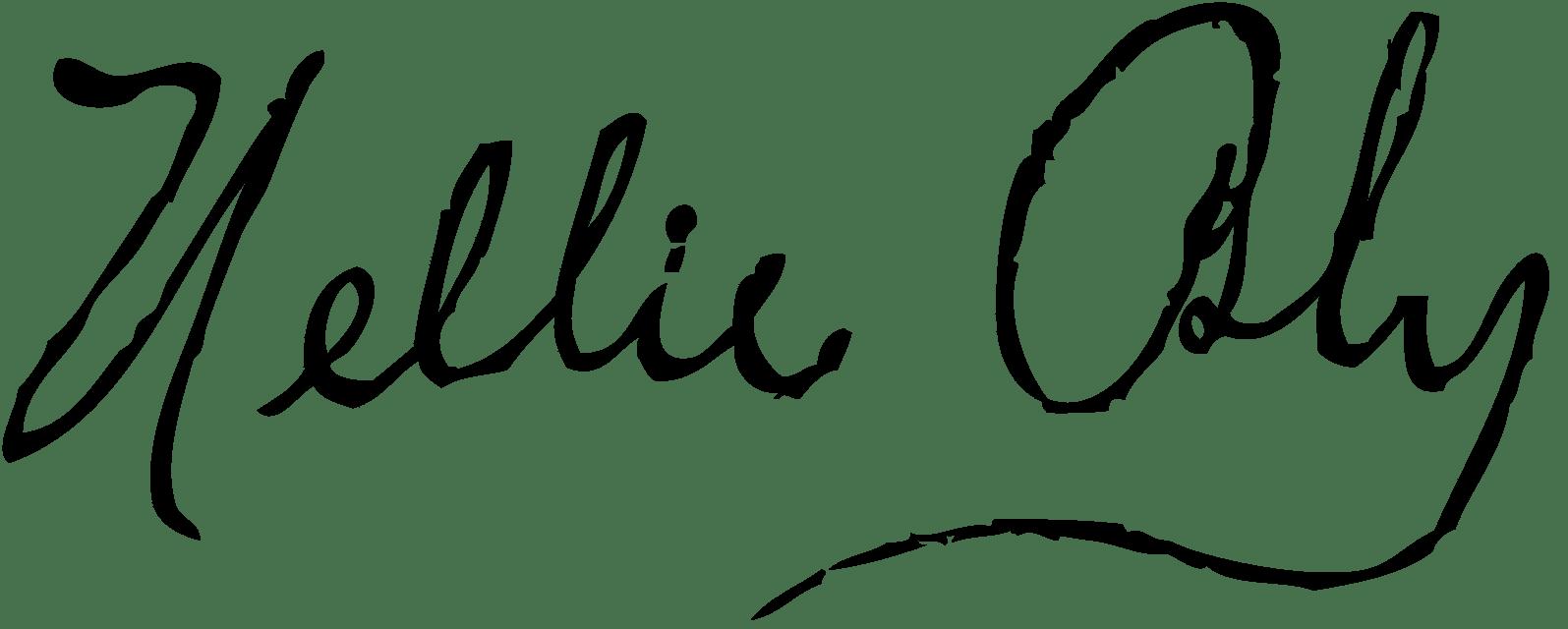 Firma de Nellie Bly
