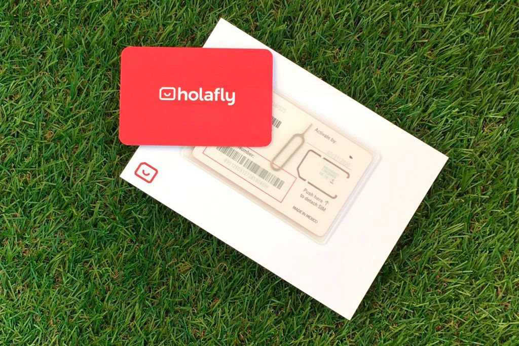 Tarjeta SIM con Holafly