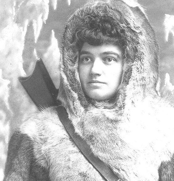 Retrato Josephine Diebitch Peary