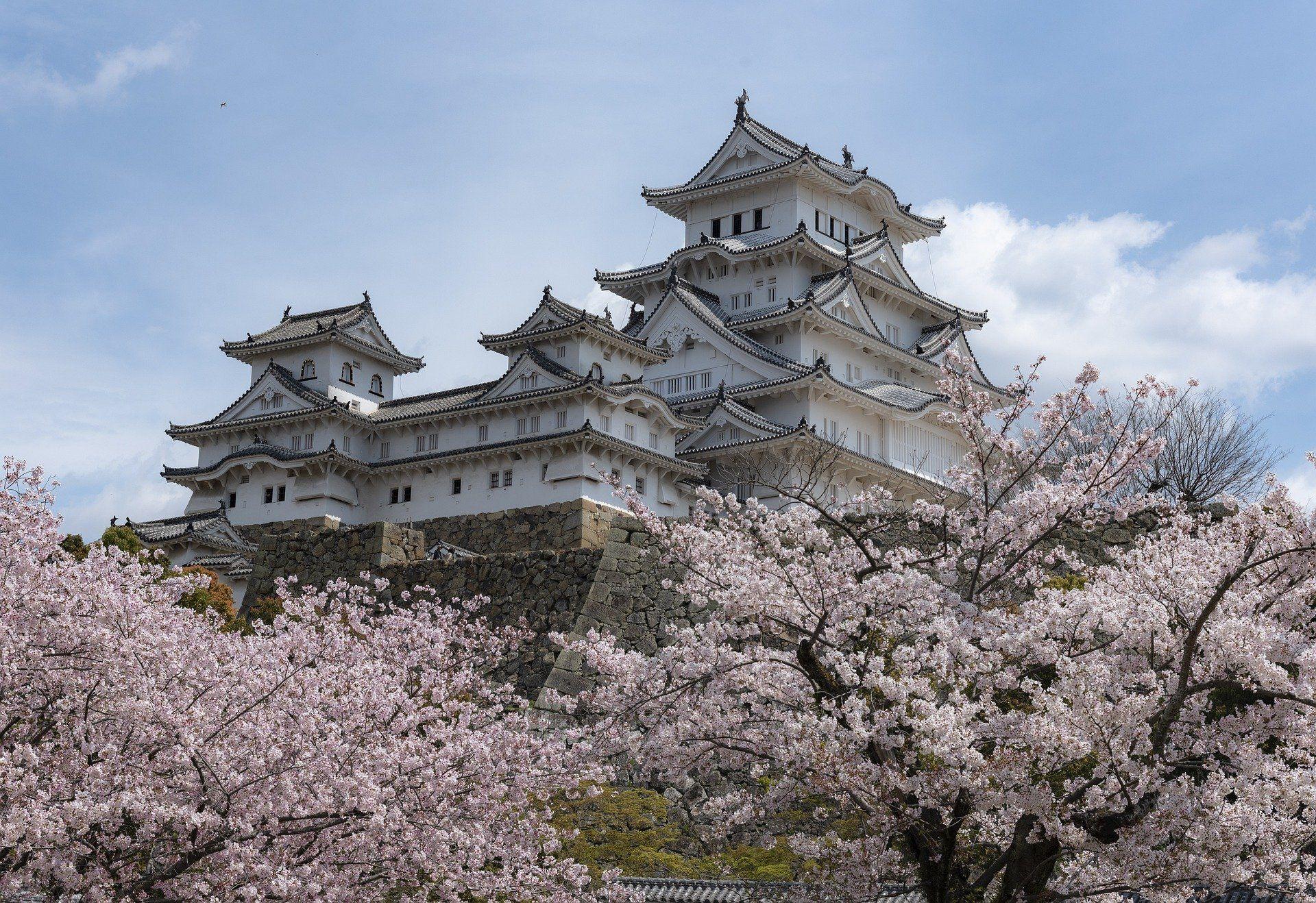 Castillo en Japón